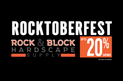 Big News this October! Save up to 20% on All Home Decor and Decorative Rock!